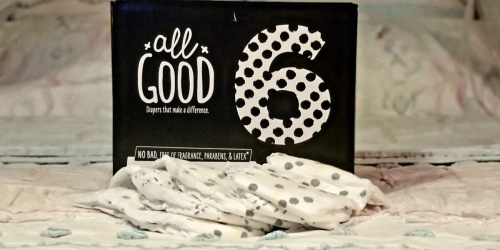 FREE All Good Diapers Sample | Great for Babies w/ Sensitive Skin