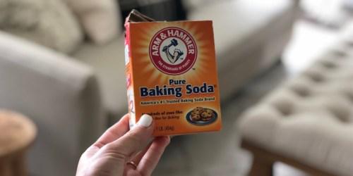Arm & Hammer Baking Soda 1-Pound Box Only 82¢ on Amazon