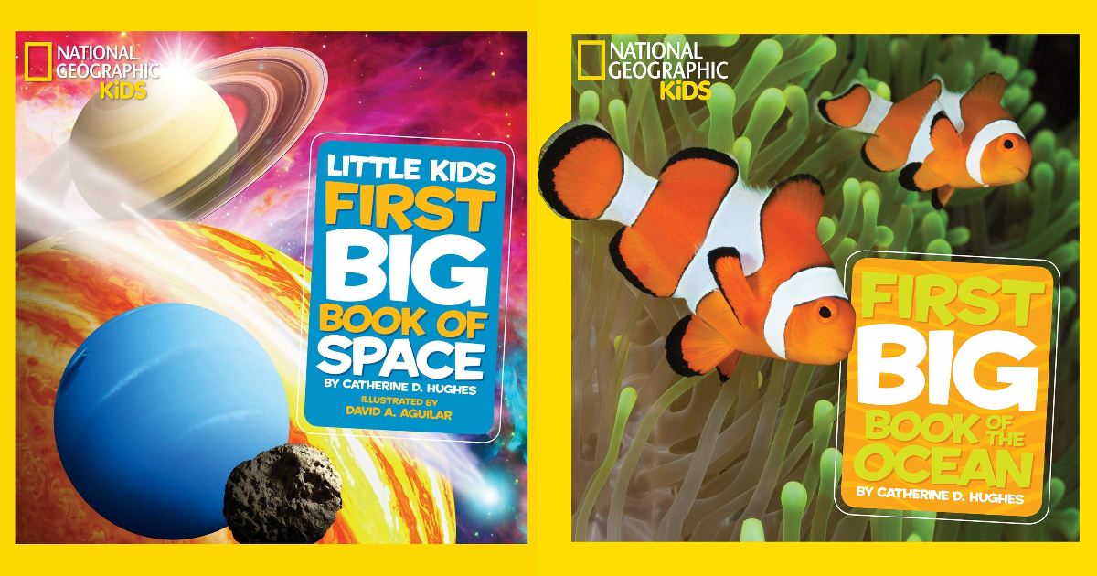 national geographic little kids book space and ocean