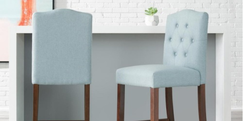 2 Upholstered Bar Stools Only $111.60 Shipped on HomeDepot.com (Just $55.80 Each)