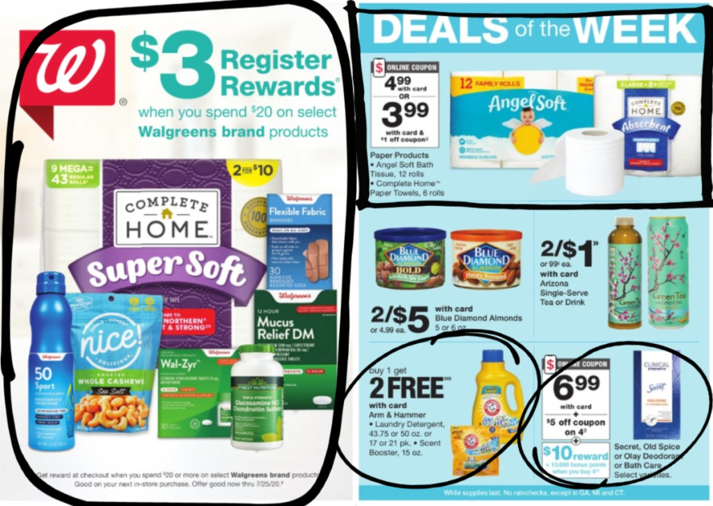 Walgreens Weekly Ad Scan 7_5-7_11 page 1