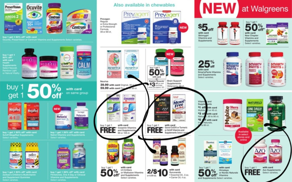 Walgreens Weekly Ad Scan 7/5-7/11 page 11