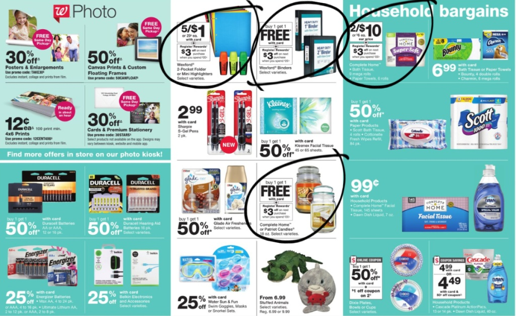 Walgreens Weekly Ad Scan 7/5-7/11 page 5