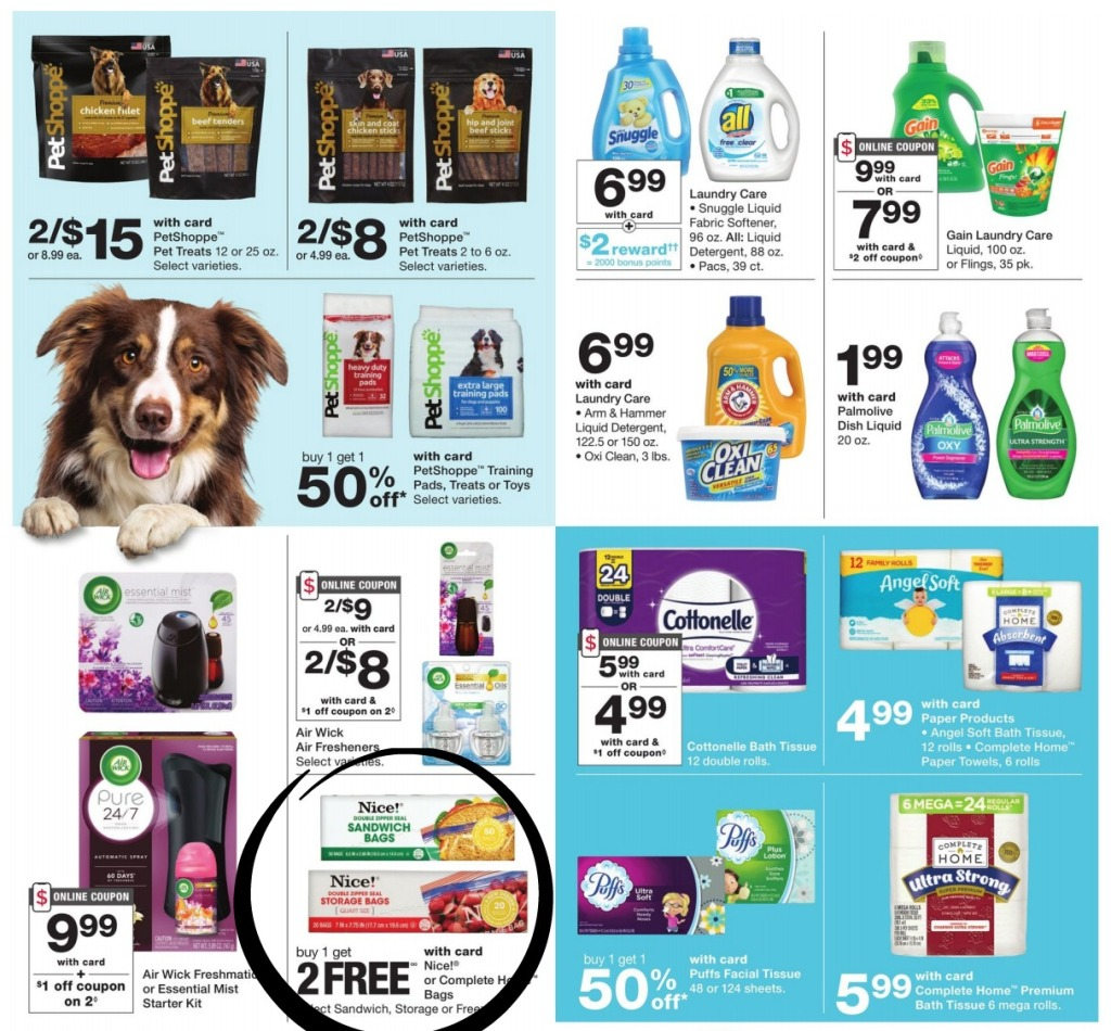 walgreens ad scan circled pages