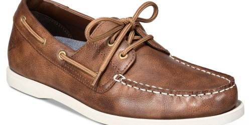 Weatherproof Vintage Men's Boat Shoes Only $19.99 on Macy's.com (Regularly $75)