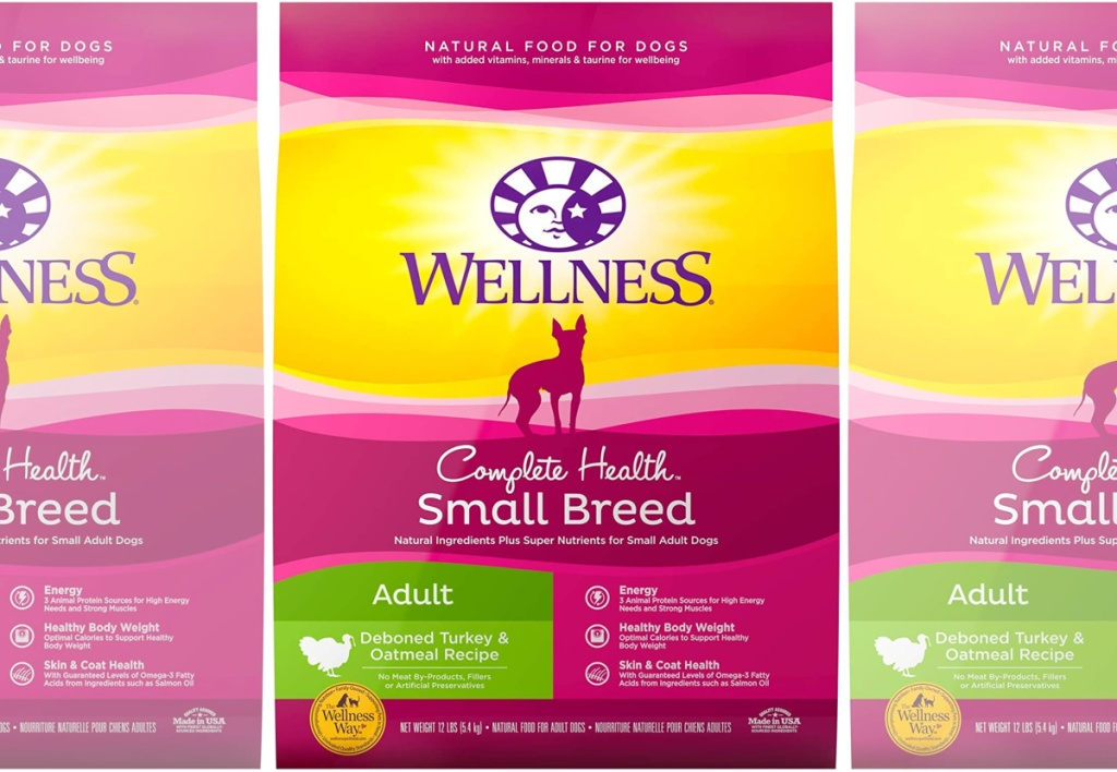 Wellness Complete Health Natural Small Breed Turkey & Oatmeal Dry Dog Food Small Breed 12 lb Bag