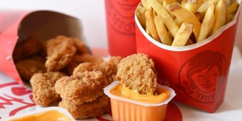 Free Wendy's 10-Piece Nuggets w/ Any Purchase + NEW Wendy's Rewards Program