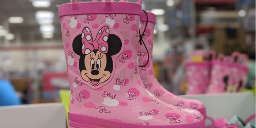 Kids Lined Rain Boots Only $14.98 at Sam's Club | Disney, Unicorns & More