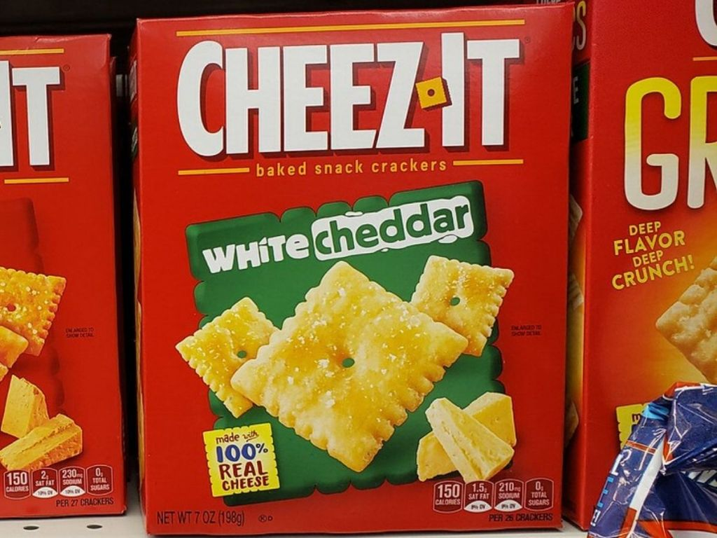 White Cheddar Cheez-Its