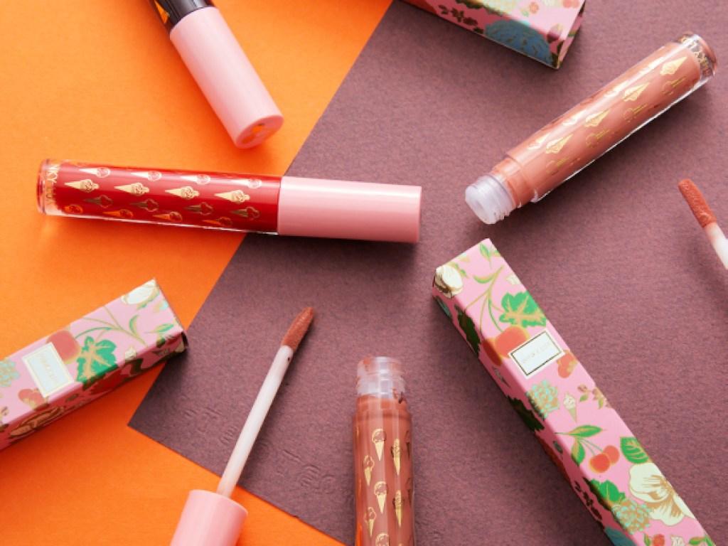 Winky Lux Double Matte Whip 24-Hour Waterproof Liquid Lipsticks