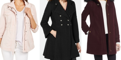 Up to 80% Off Women's Jackets on Macys.com | Cole Haan, GUESS, & More