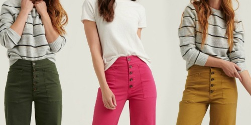 Up to 85% Off Lucky Brand Women's & Men's Apparel