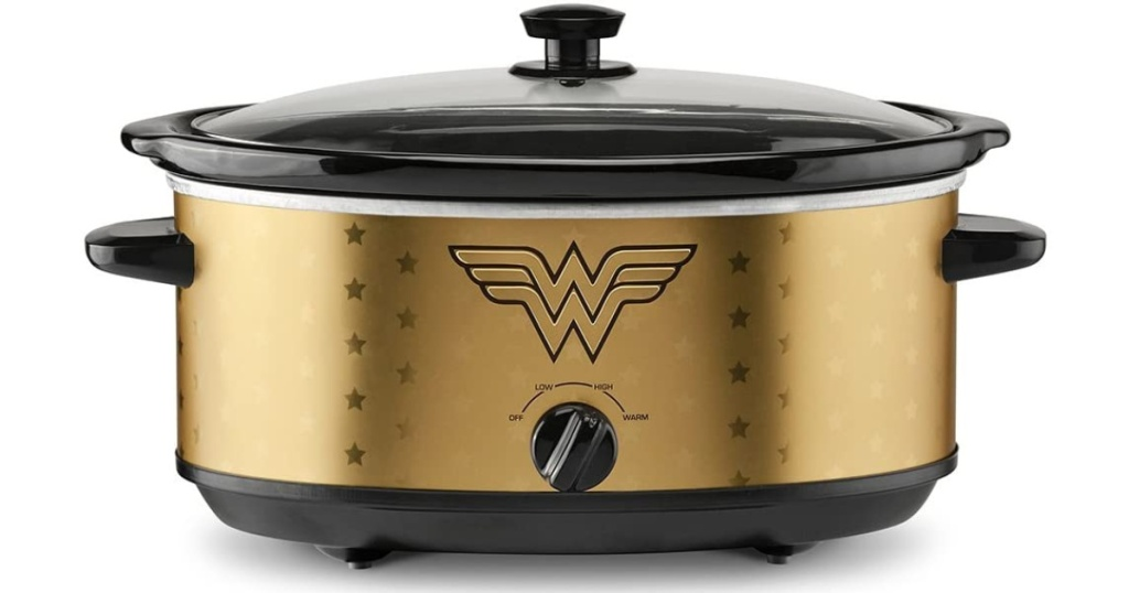 stock image of Wonder Woman Slow Cooker