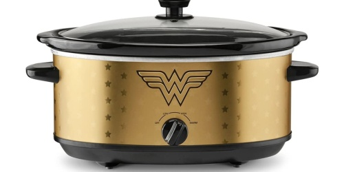 Wonder Woman 7-Quart Slow Cooker Only $24 on Amazon (Regularly $40)