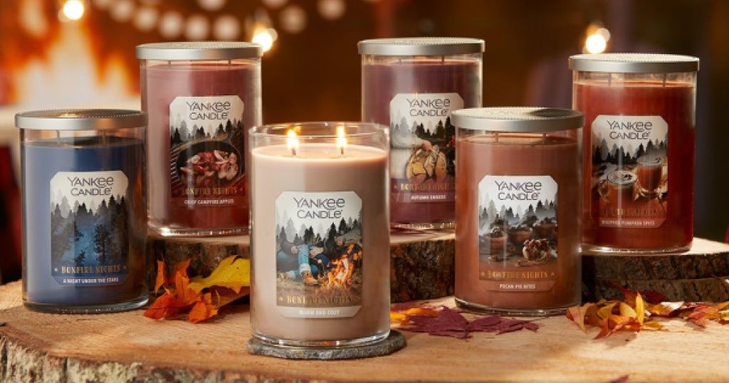 multiple tumbler candles Yankee Candle Fall Scents