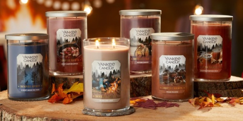 Yankee Candle New Fall Scents Available Now | Buy 2, Get 1 Free