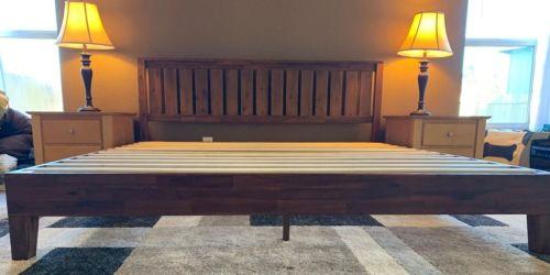 Zinus Queen Platform Bed w/ Headboard Just $198 Shipped on Amazon
