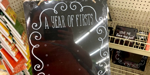 Chalkboard Signs Just $1 at Dollar Tree | Baby's 1st Year, Engagements and More