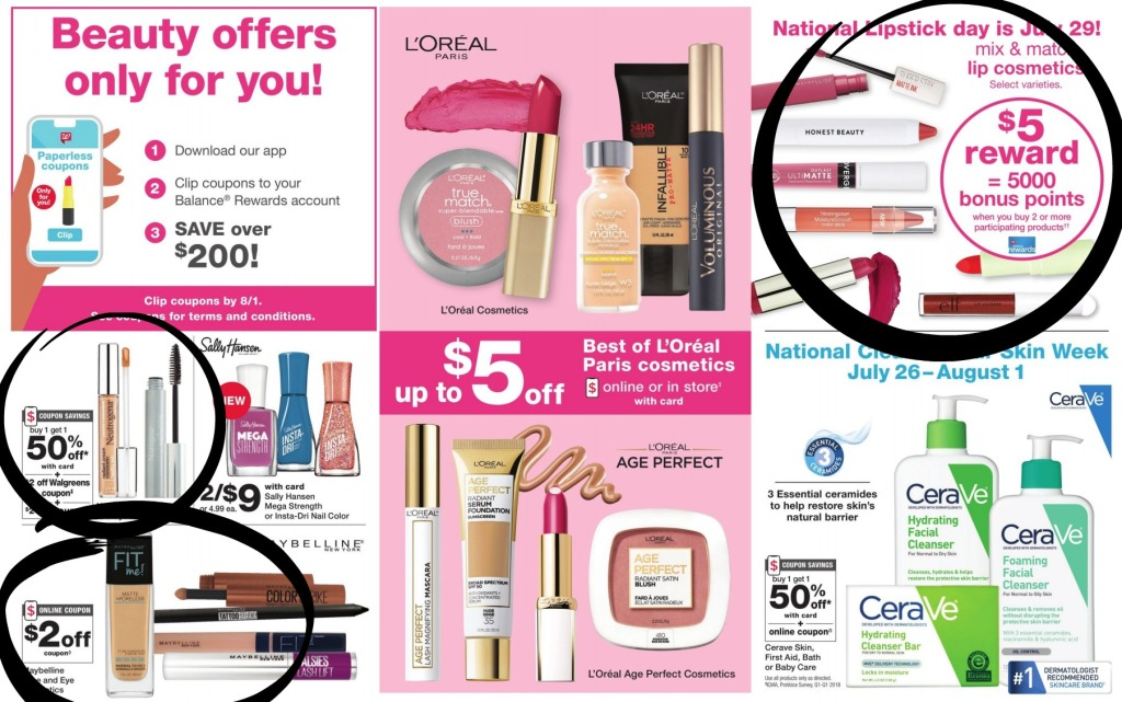 walgreens ad scan beauty pages