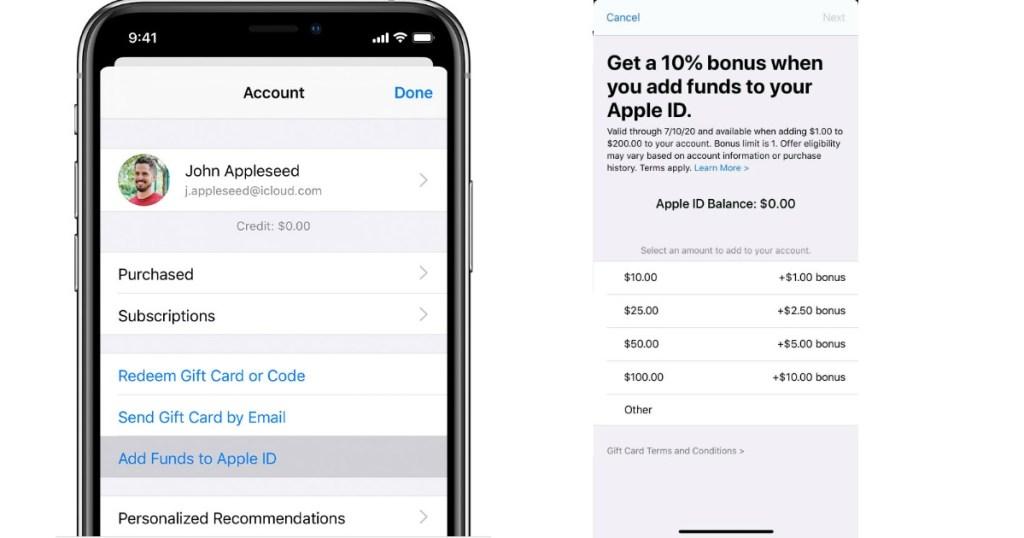 apple store screenshots