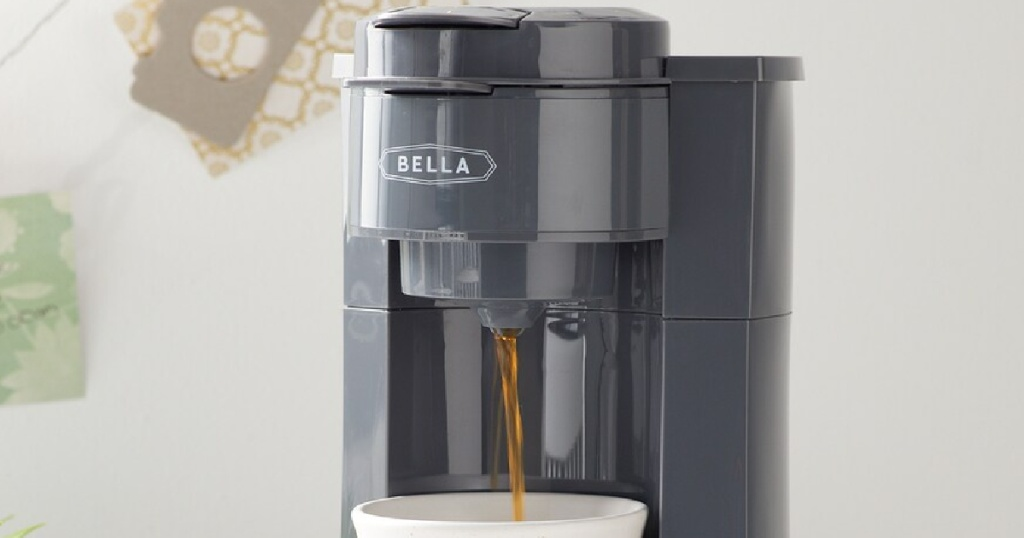 coffee maker making a single cup