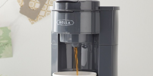 Bella Single Brew Coffee Maker Only $20.99 Shipped for Kohl's Cardholders (Regularly $50)