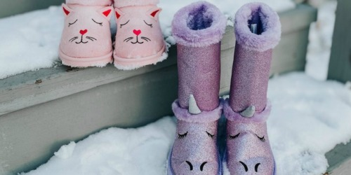 *HOT* Get TWO Pairs of FabKids Shoes or Boots for Only $9.95 Shipped