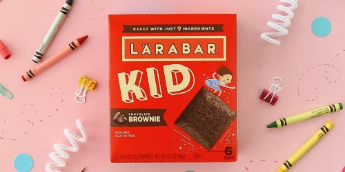 Larabar Kid Snack Bars 48-Count Pack Only $24 Shipped on Amazon | Just 50¢ Per Bar