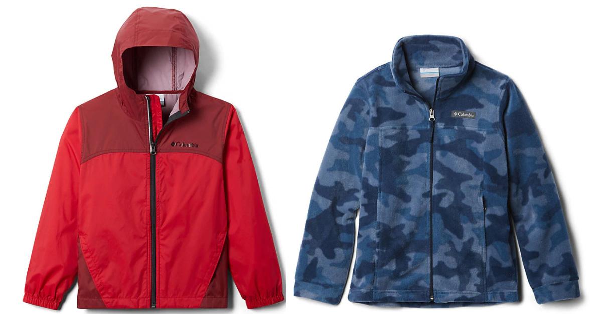 boys columbia jackets