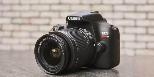Canon EOS Rebel T6 DSLR Camera w/ 2 Lenses Just $299.99 Shipped + Earn $60 Kohl's Cash