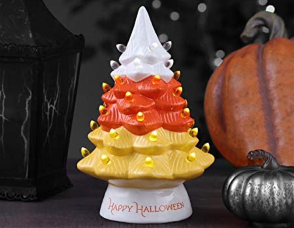 ceramic candy corn tree