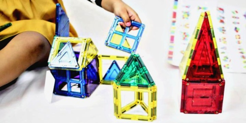32-Piece Magnetic Building Tiles Set w/ Storage Case Just $26.99 Shipped (Regularly $53)