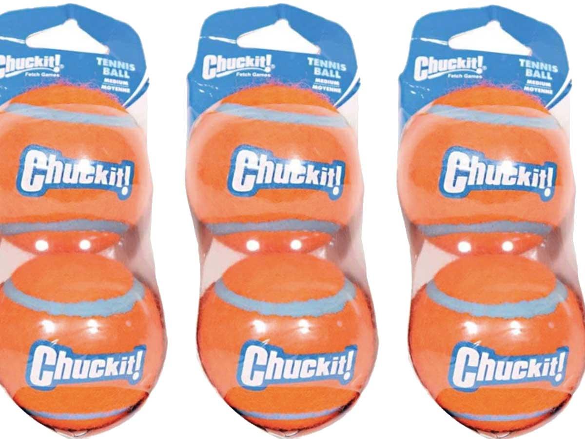 stock image chuck it balls