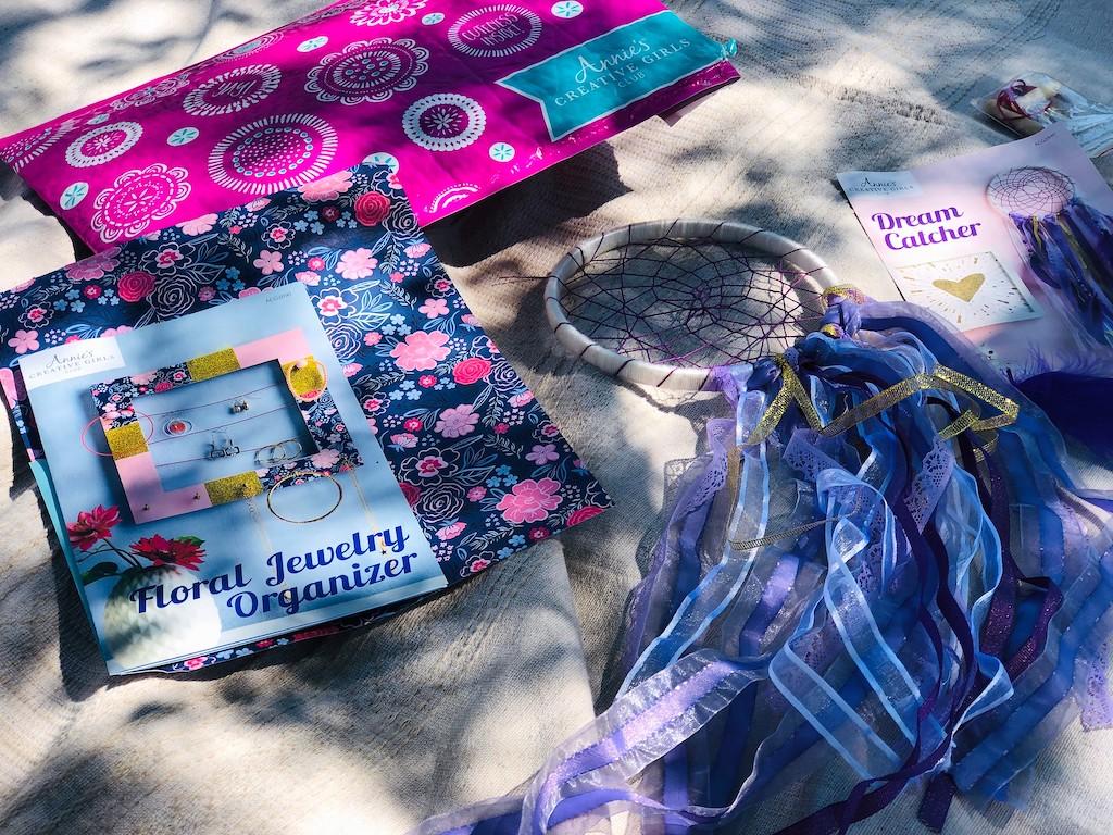 Annie's Creative Girls Club craft kits