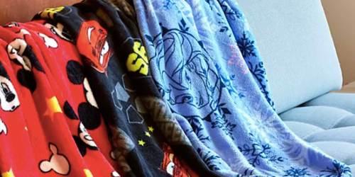 Disney Cars Fleece Throw Blanket Only $5.98 Shipped (Regularly $20)