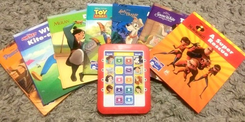 Disney Kids Electronic Reader w/ Eight Books Only $14 on Amazon (Regularly $33)