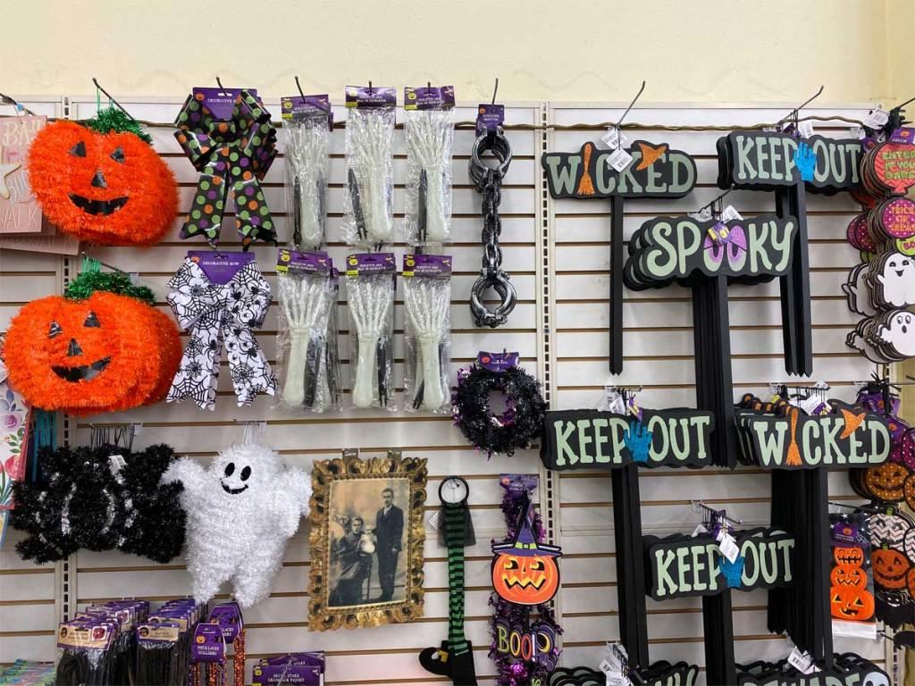 Halloween Decor Activites & More Just $1 at Dollar Tree