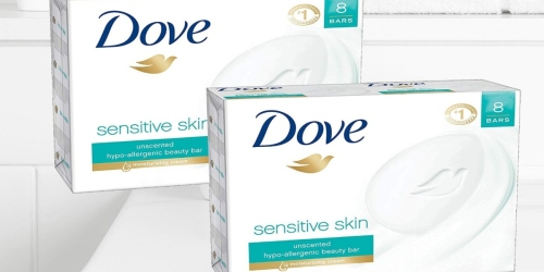 Dove Beauty Bar 16-Pack Only $11 Shipped on Amazon | Just 70¢ Per Bar