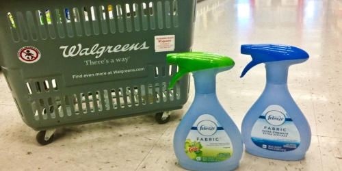 Febreze Products Just $1.50 Each at Walgreens (Regularly $5)