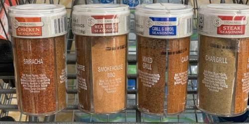 Stonemill 4-in-1 Seasonings Only $3.99 Now at ALDI | Four Spices Per Jar