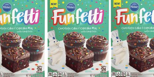 Pillsbury's Funfetti Chocolate Cake & Cupcake Mix Now Available