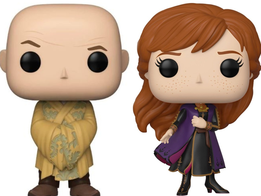 Funko pop game of thrones and frozen characters
