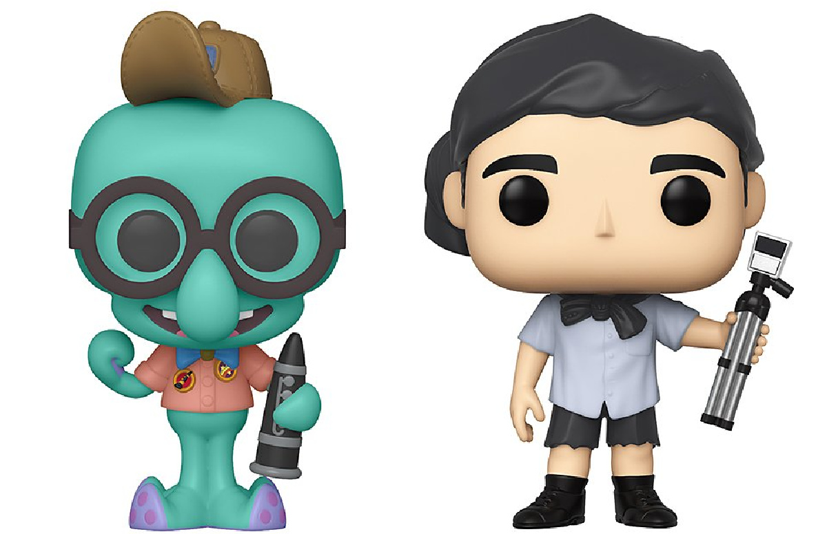 sponge bob and the office funko pop characters