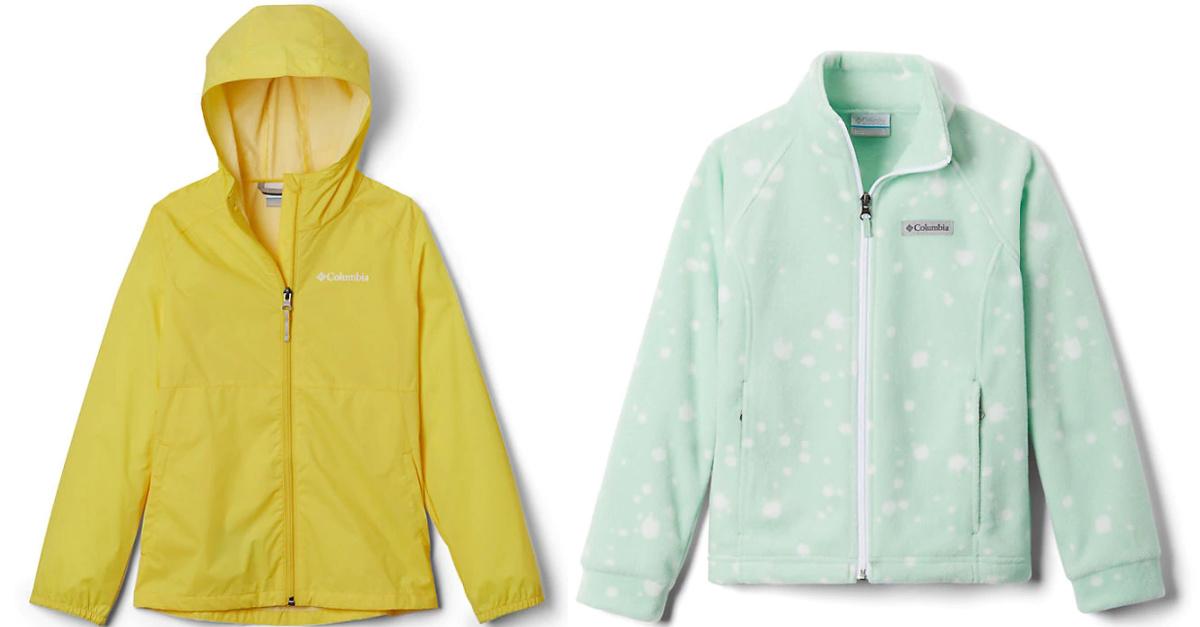 girls columbia jackets