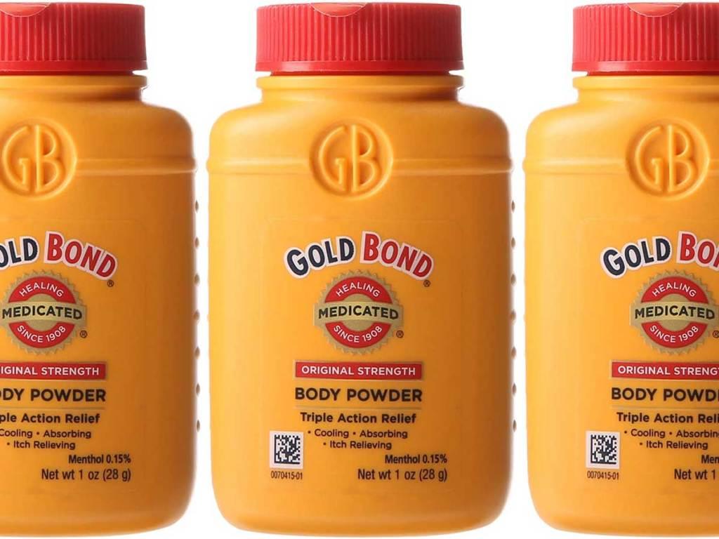 stock image of body powder