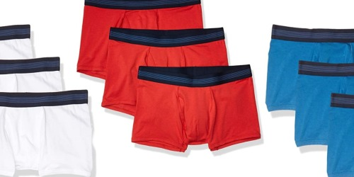 Goodthreads Men's Underwear 3-Packs Just $7.46 on Amazon