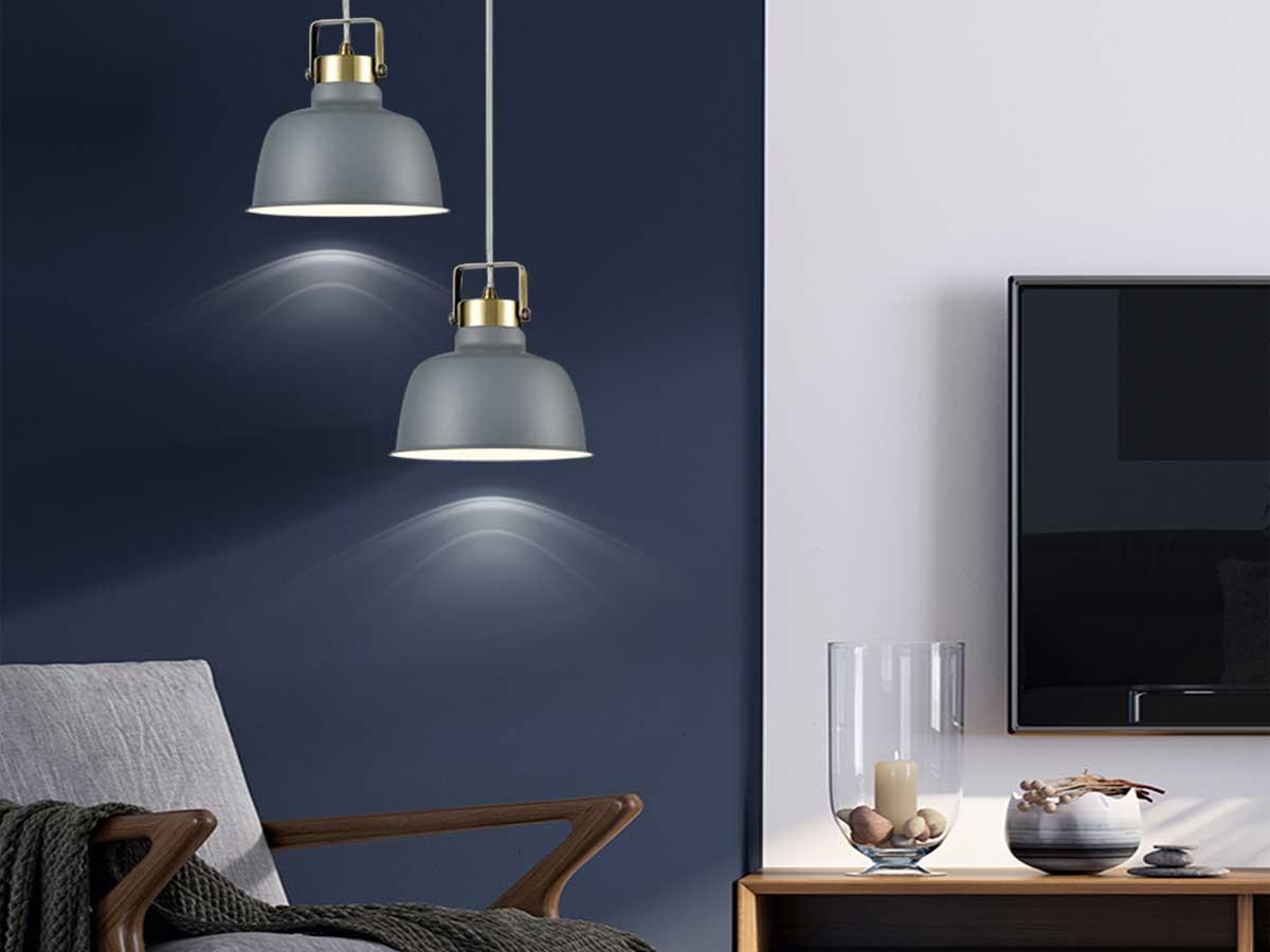 gray pendant lights