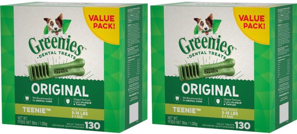 greenies teenie 130-count boxes