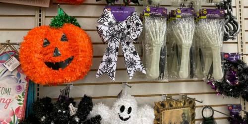 Halloween Decor, Activites & More Just $1 at Dollar Tree
