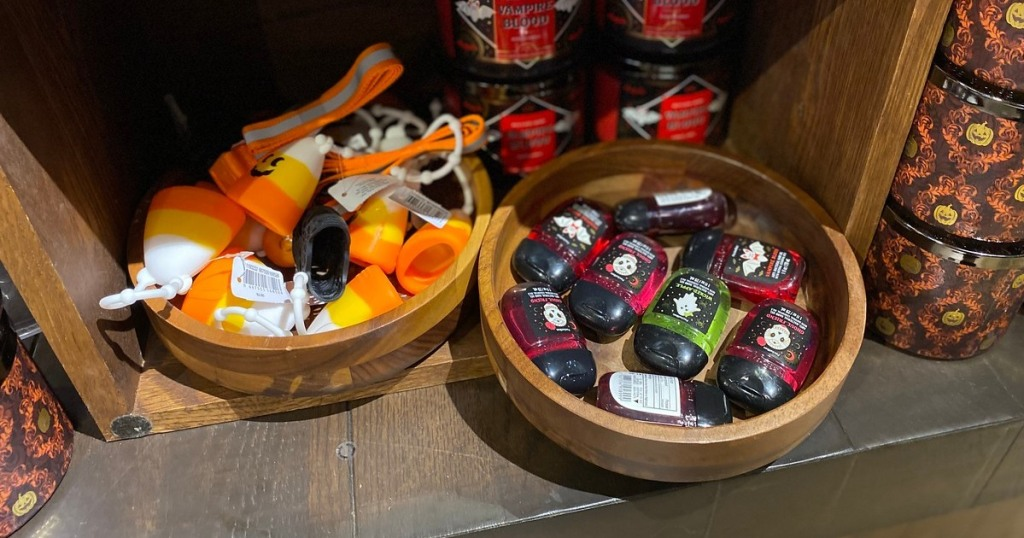 Halloween PocketBac sanitizers